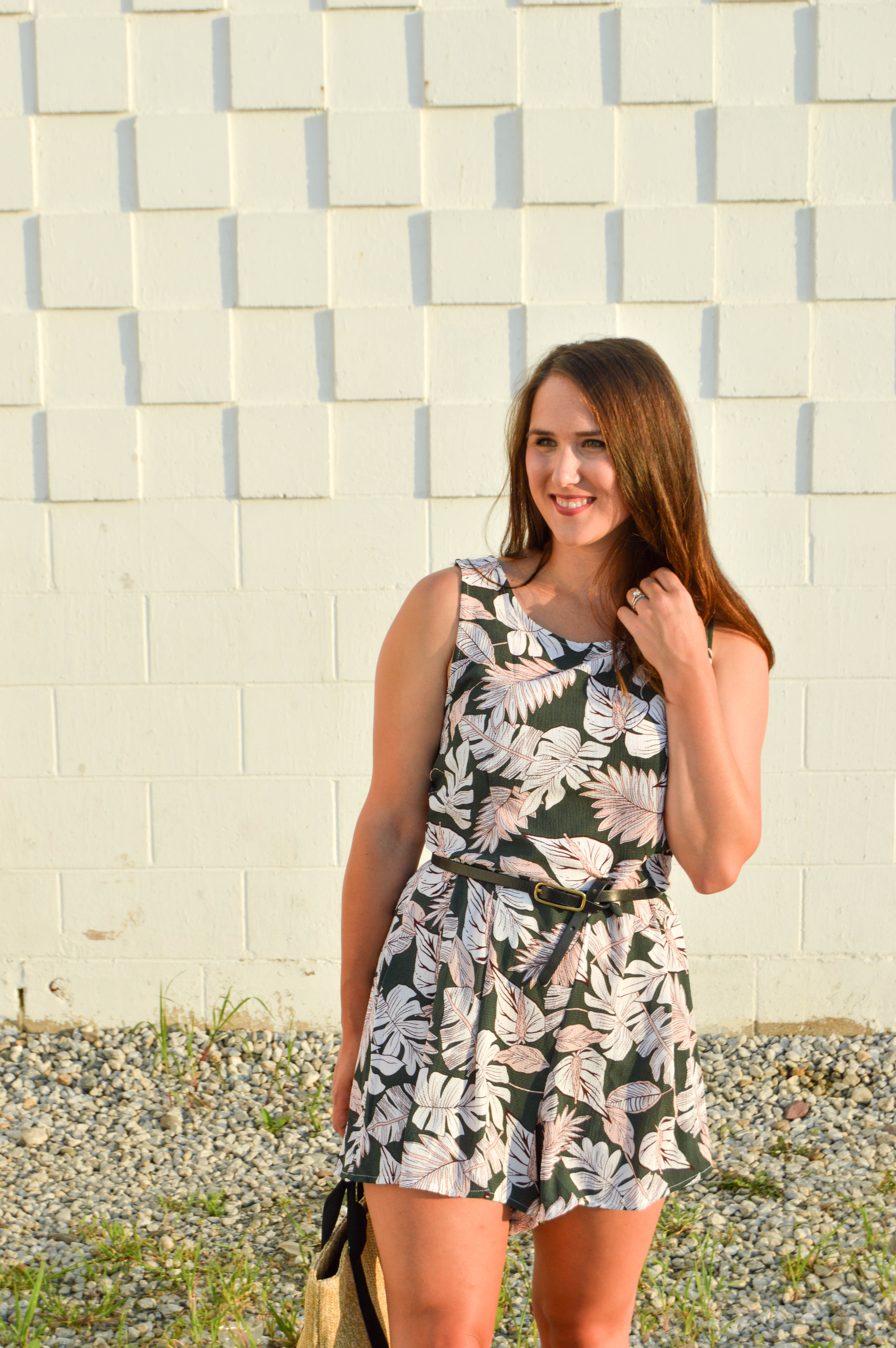 My California Inspiration | Asos Floral Romper | Pointed North