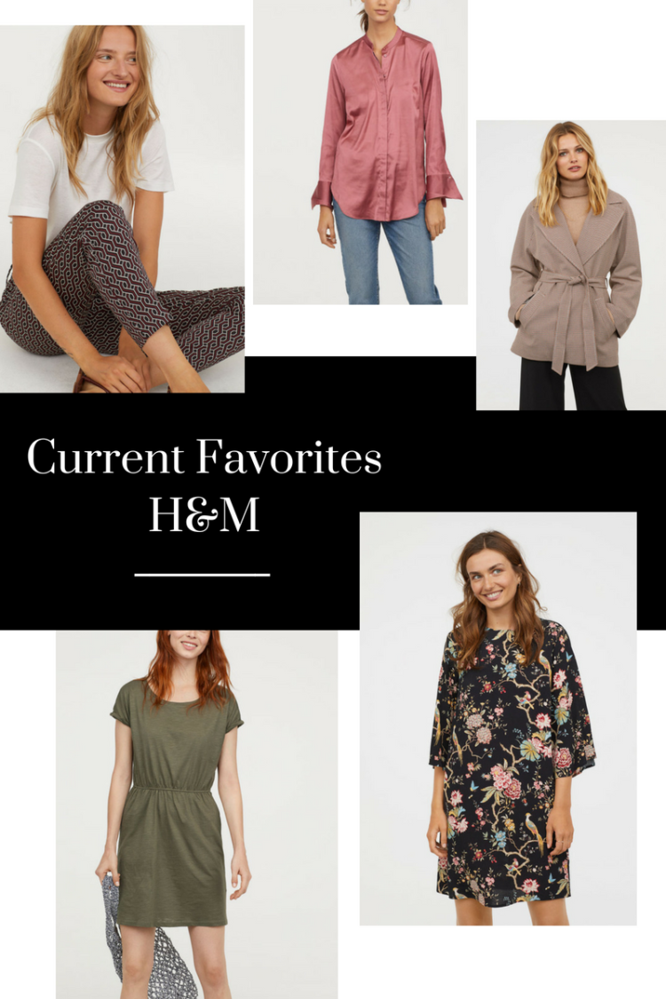 Current Favorites from H&M